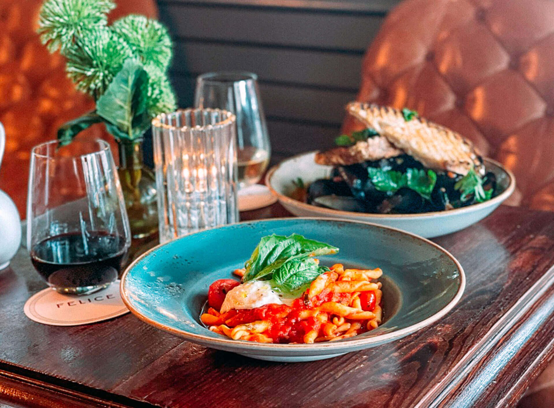 Felice Ristorante & Wine Bar: Takeout and Delivery